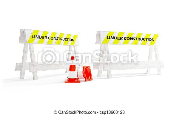 construção, sob - csp13663123