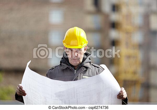 construção, sob - csp6274736