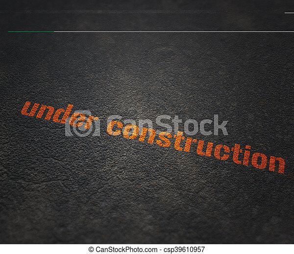 construção, sob - csp39610957