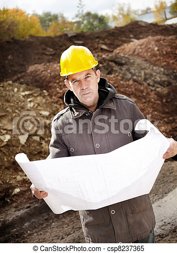 construção, sob - csp8237365