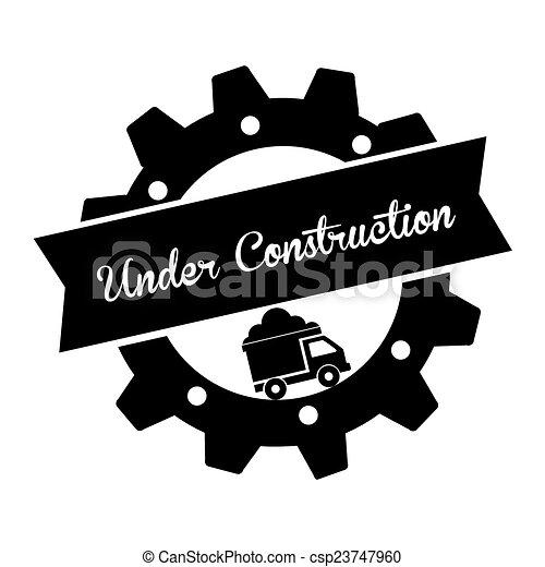 construção, sob - csp23747960