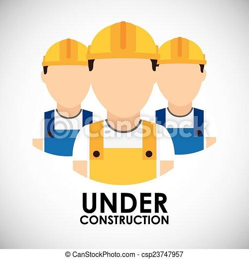 construção, sob - csp23747957