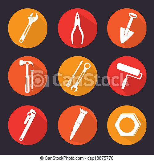 Herramientas de construcción - csp18875770