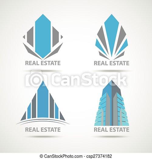 Simbolo de construcción de negocios - csp27374182
