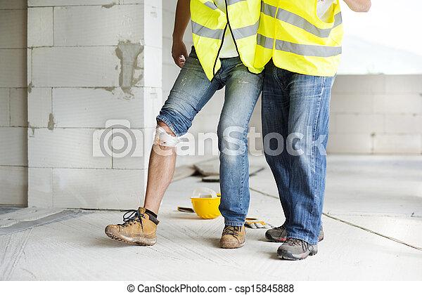 Construction accident - csp15845888