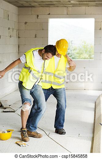 Construction accident - csp15845858