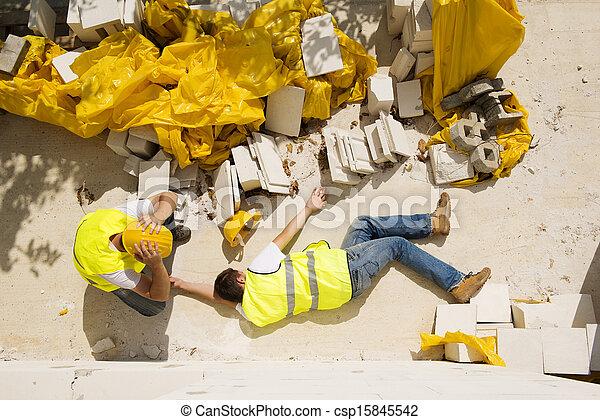 Construction accident - csp15845542