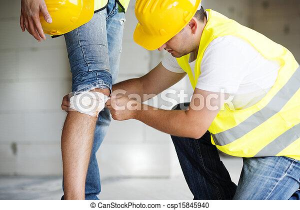 Construction accident - csp15845940