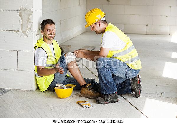 Construction accident - csp15845805