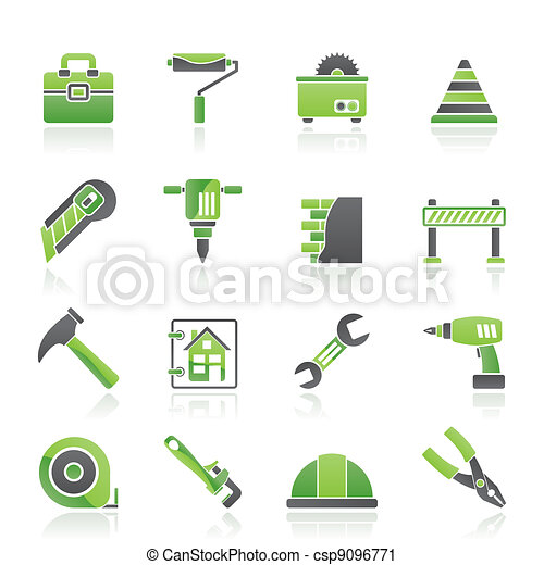 Construction and building Icons - csp9096771