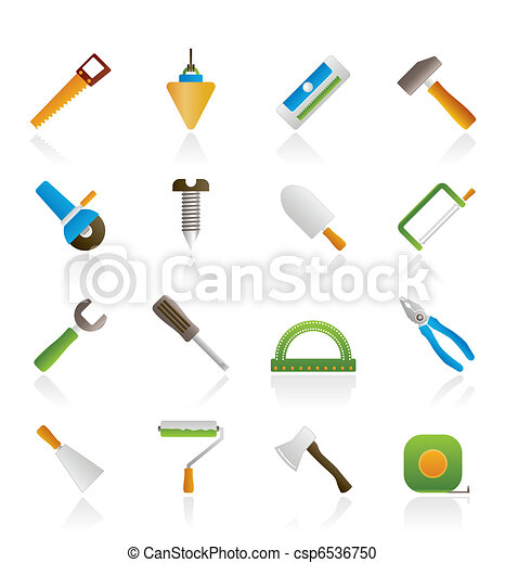 Construction and Building Tools - csp6536750