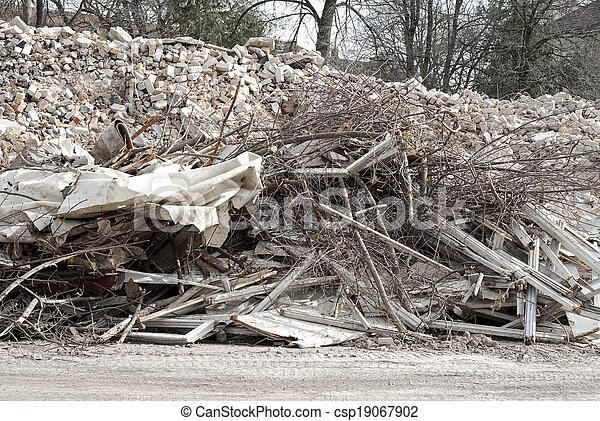 Construction and Demolition Debris - csp19067902