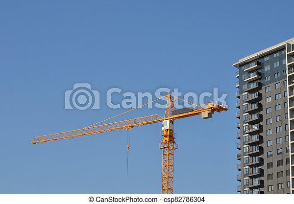 construction, bâtiment, sous - csp82786304