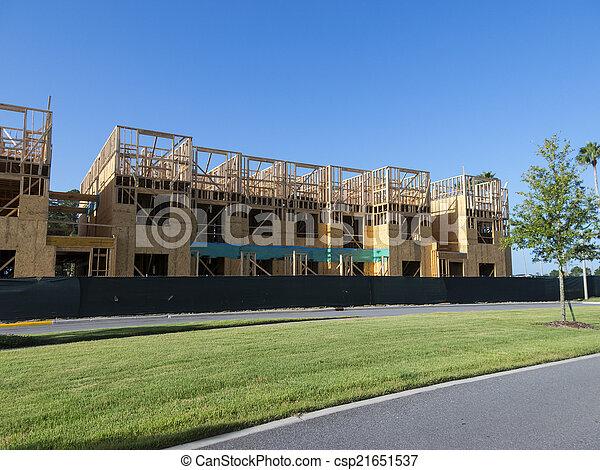 construction bâtiments - csp21651537