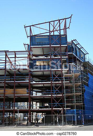 construction bâtiments, sous - csp0278760