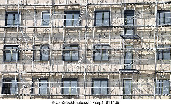 construction bâtiments, sous - csp14911469