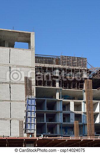 construction bâtiments, sous - csp14024075
