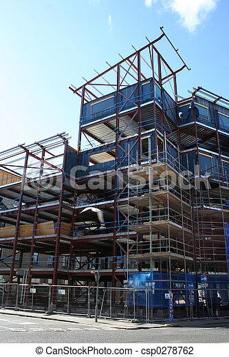 construction bâtiments, sous - csp0278762