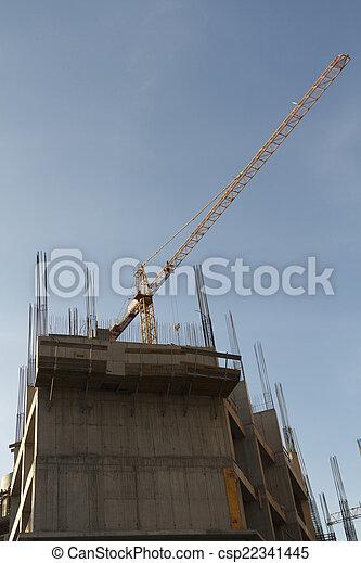 construction bâtiments, sous - csp22341445