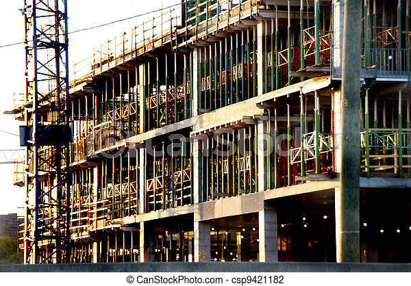 construction bâtiments, sous - csp9421182