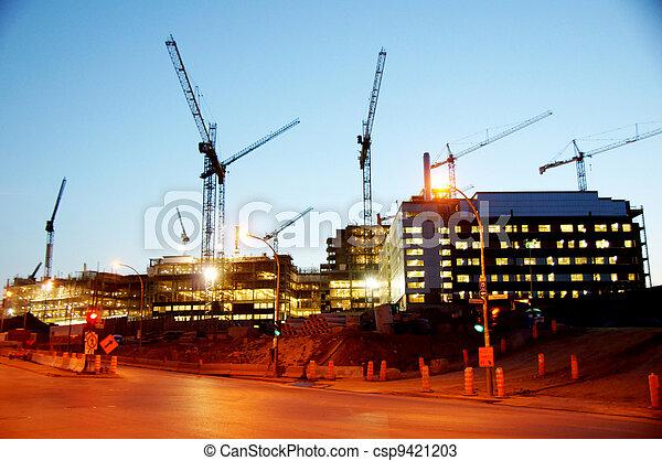 construction bâtiments, sous - csp9421203