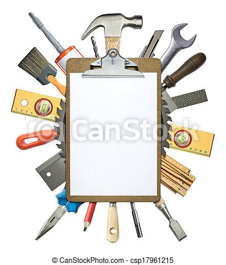 Construction background - csp17961215