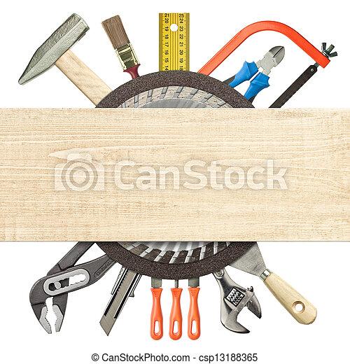 Construction background - csp13188365