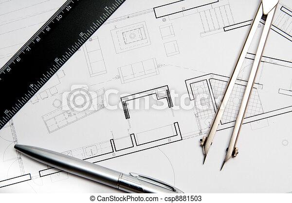 Construction blueprint architecture blueprint tools construction blueprint csp8881503 malvernweather Choice Image