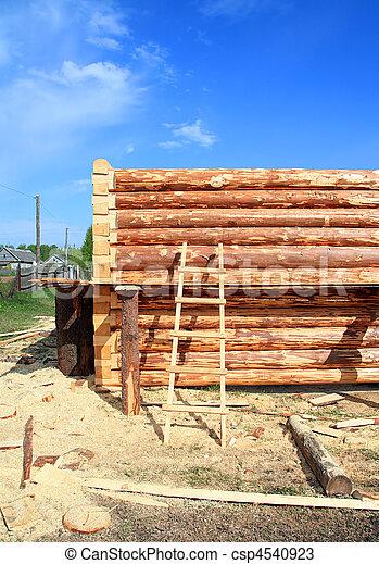 construction, bois, bâtiment - csp4540923
