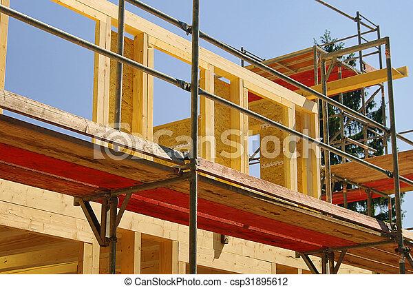 construction, bois - csp31895612