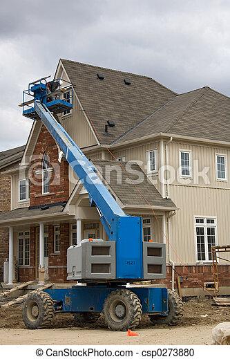 construction boom lift - csp0273880