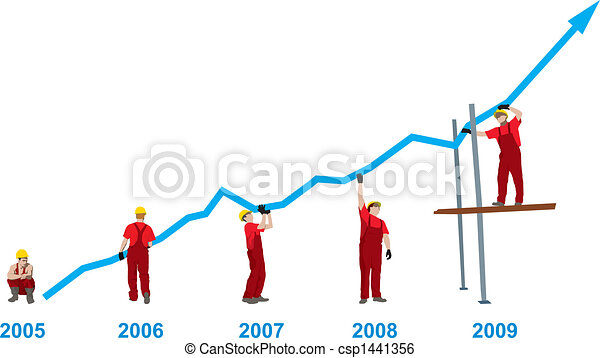 Construction Business Growth - csp1441356