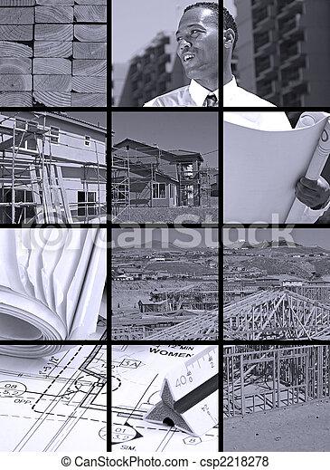 Construction Collage - csp2218278