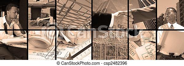 Construction Collage - csp2482396