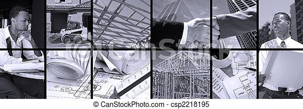 Construction Collage - csp2218195