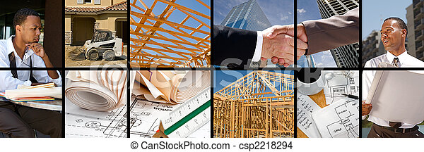Construction Collage - csp2218294