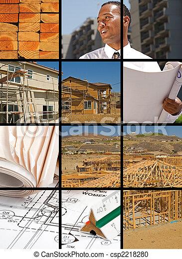 Construction Collage - csp2218280