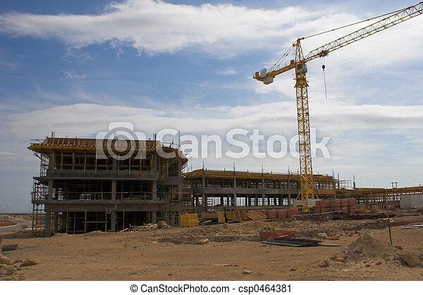 construction crane - csp0464381