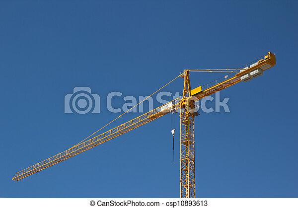 Construction Crane - csp10893613