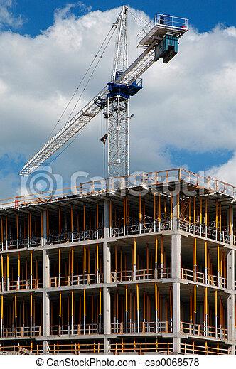Construction crane - csp0068578