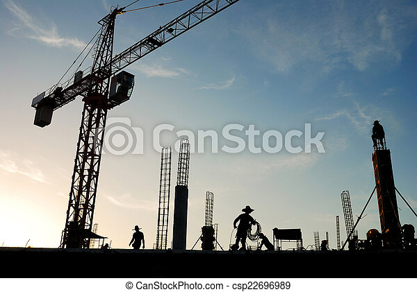 construction crane - csp22696989
