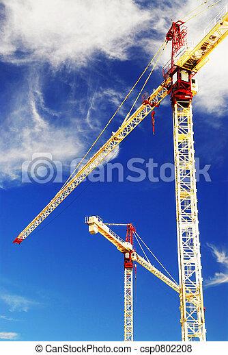Construction cranes - csp0802208