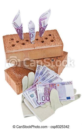 construction, financing, building society. - csp8325342