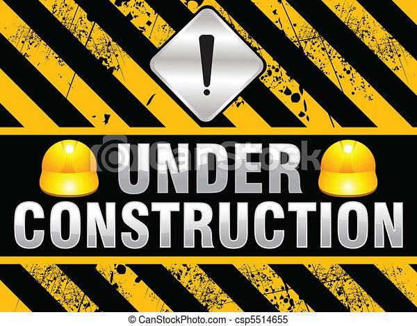 construction, fond, résumé - csp5514655