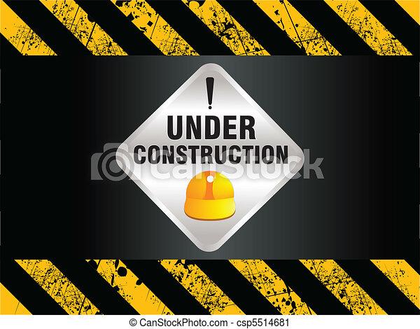 construction, fond, résumé - csp5514681