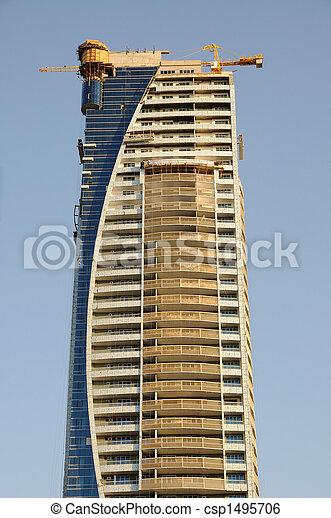construction, gratte-ciel - csp1495706
