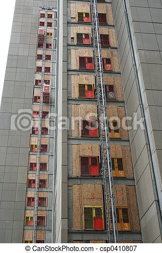 construction, gratte-ciel - csp0410807