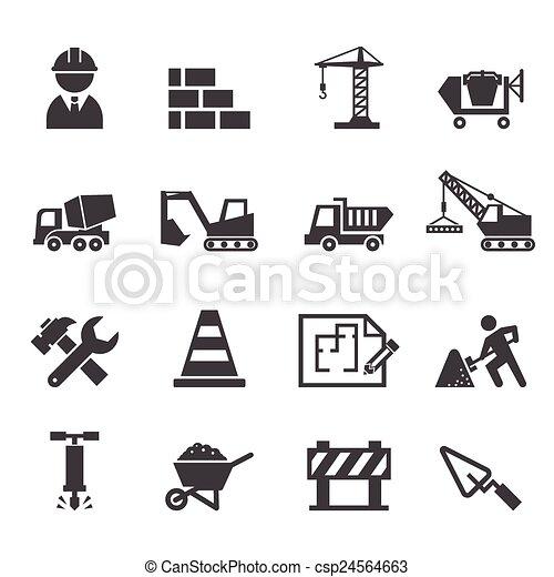 construction icon - csp24564663