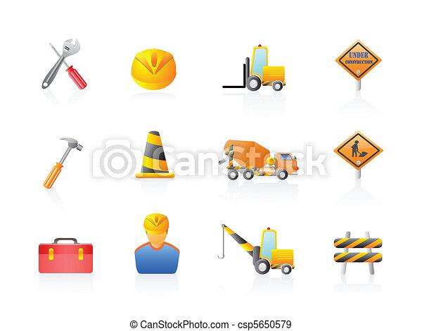 Construction Icon set  - csp5650579
