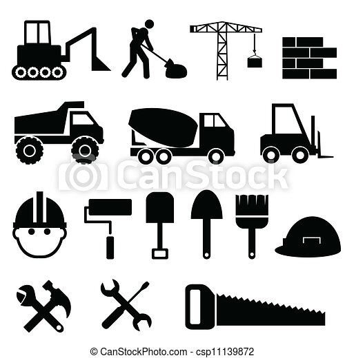 Construction icon set - csp11139872